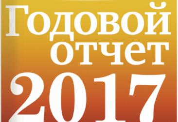 Годовой отчет за 2017 год.