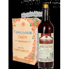 «ГОМЕЛЬСКОЕ ЛАЙТ» Вино фруктово-ягодное натуральное столовое полусладкое