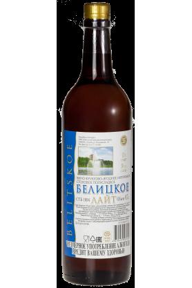 Вино фруктово-ягодное натуральное столовое полусладкое «Белицкое Лайт» 0.7л