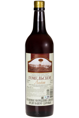 Вино фруктово-ягодное натуральное столовое полусладкое «Гомельское Лайт» 0.7л