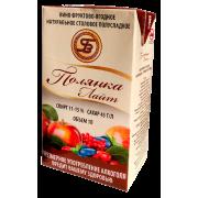 «ПОЛЯНКА ЛАЙТ»Вино фруктово-ягодное натуральное полусладкое