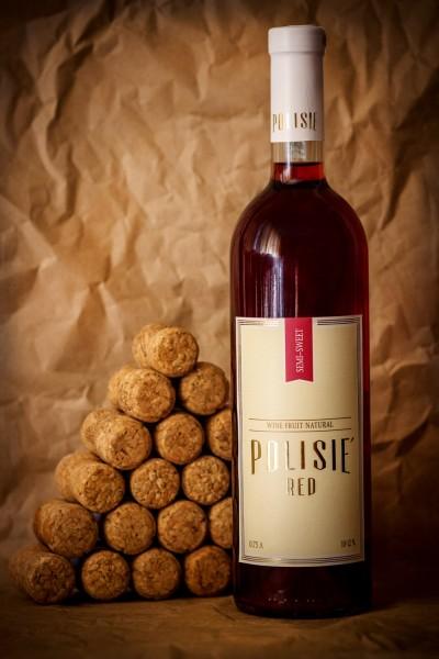 «POLISIE красное» Вино фруктово-ягодное натуральное