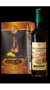 «ШАРДОНЕ» Вино виноградное натуральное полусладкое белое