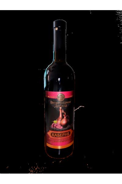 """""""КАБЕРНЕ"""" Вино виноградное натуральное полусухое красное"""
