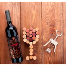 ''БЕЛОРУССКИЙ СУВЕНИР'' Вино фруктово-ягодное натуральное столовое полусладкое