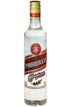 Водка «Румянцевская вечерняя» 0.5л
