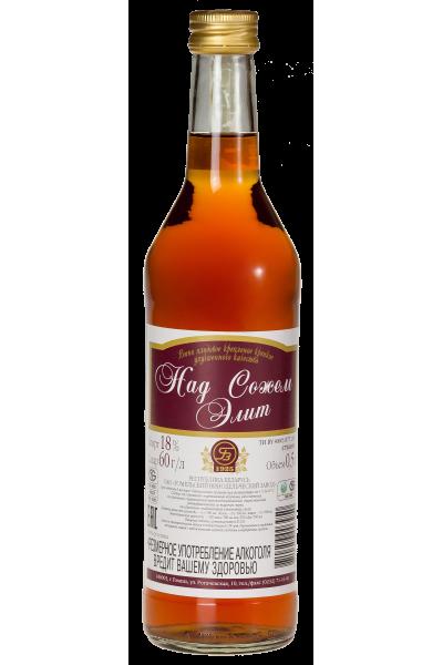 Вино плодовое крепленое крепкое улучшенного качества «Над Сожем. Элит» 0.5 л