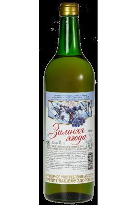 «ЗИМНЯЯ ЯГОДА» Вино плодовое крепленое крепкое улучшенного качества  0.7л