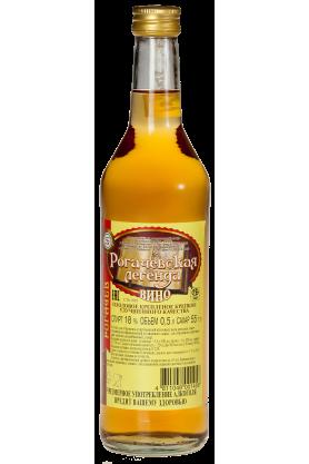 Вино плодовое крепленое крепкое улучшенного качества «Рогачевская легенда» 0.5л