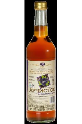 «ЛУЧИСТОЕ черносмородиновое» вино плодовое крепленое специальной технологии 0.5л