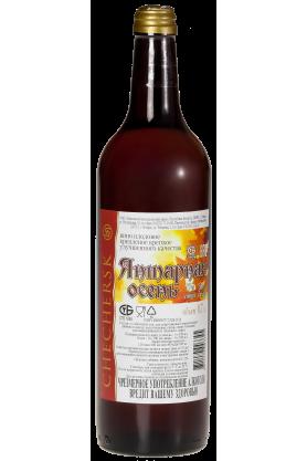 Вино плодовое крепленое крепкое улучшенного качества «Янтарная осень» 0.7л